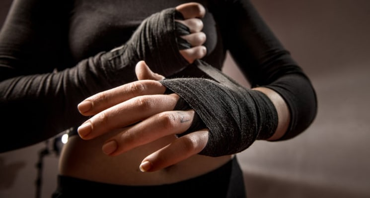 boxing tips wrap your hands