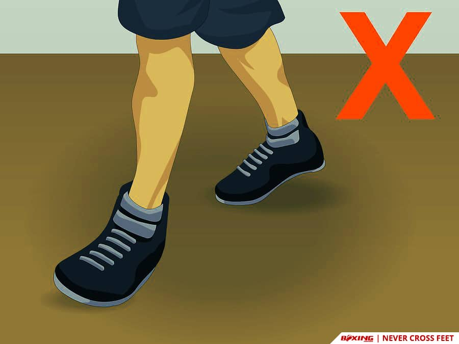 Do Boxing Footwork Never Cross Feet