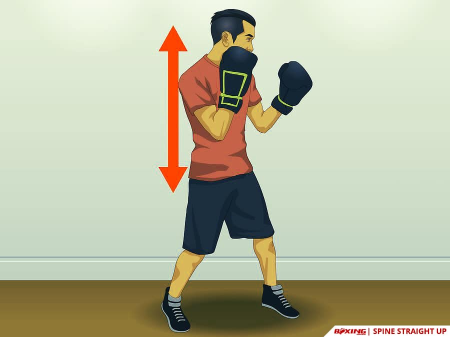 Do Boxing Footwork Spine Straight Up