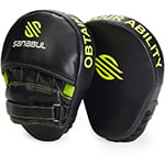 Sanabul Essential Curved Boxing Punching Mitts