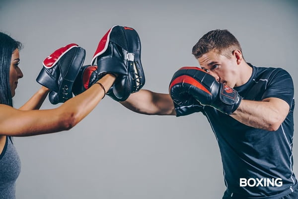 Boxing-competing